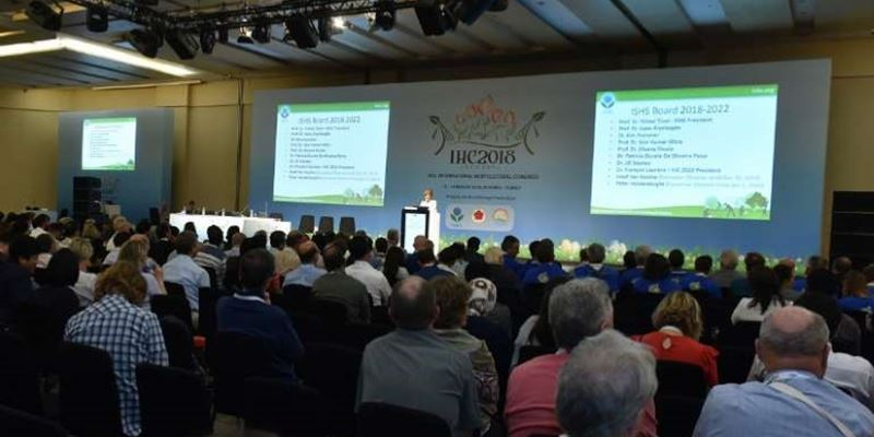 International Society for Horticultural Science: rinnovo cariche